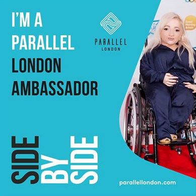 My interview with Samantha Renke for Parallel London
