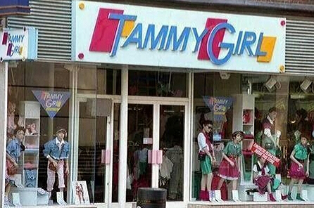 Image Description: Tammy Girl shop front