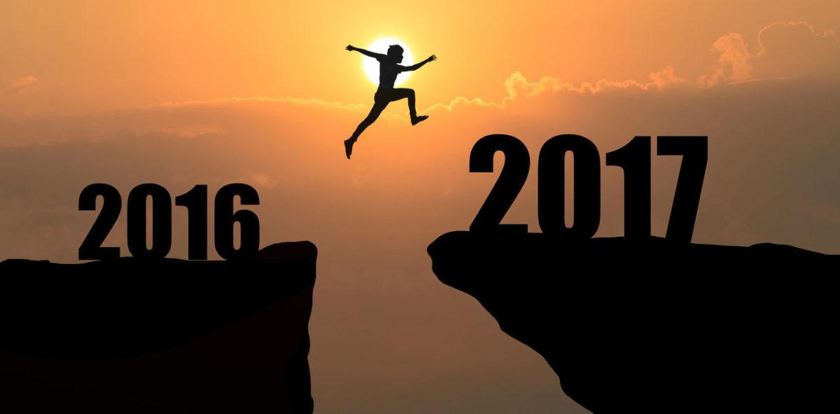 Moving forward   Goodbye 2016, Hello 2017