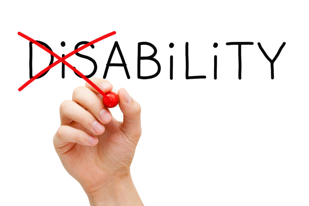 We can and we do: Highlighting the Ability in DisAbility