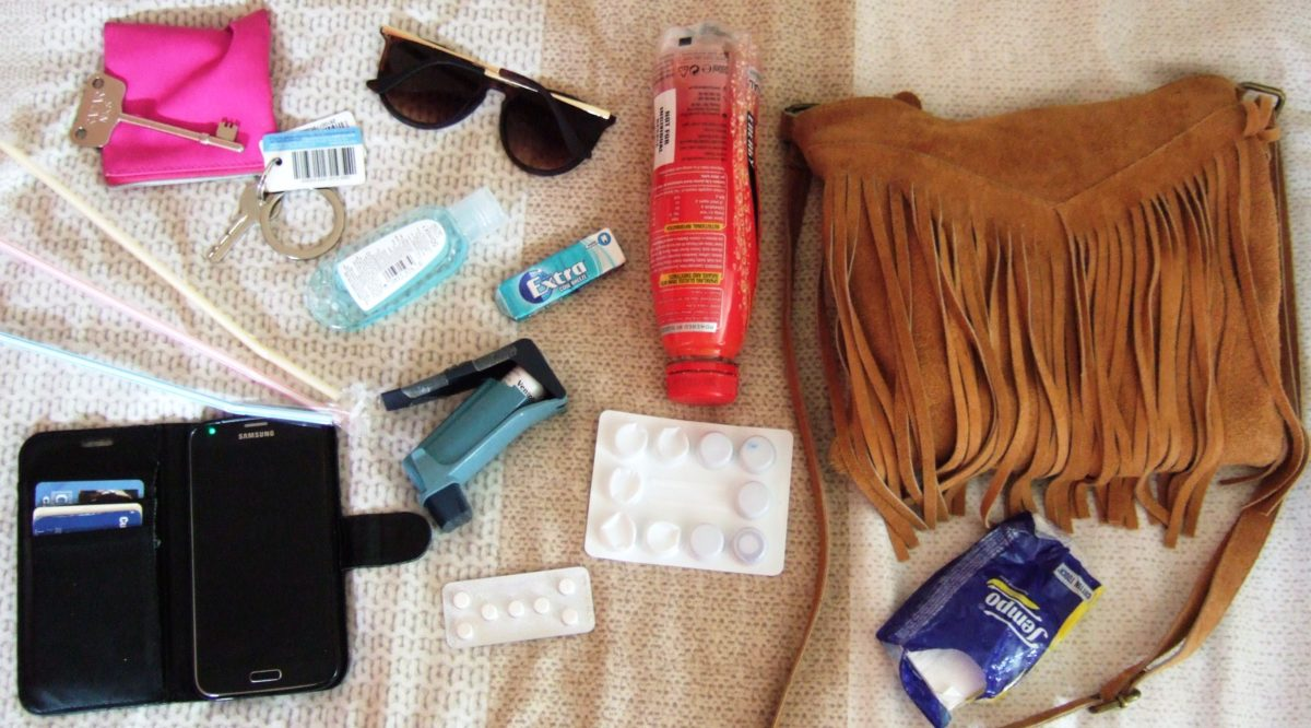What's in my bag: UCMD edition