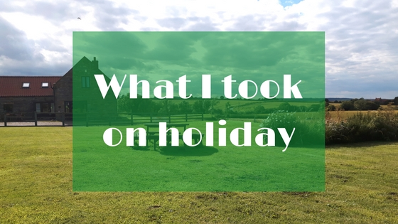 What I took on holiday to Whitby | Wheelchair Life